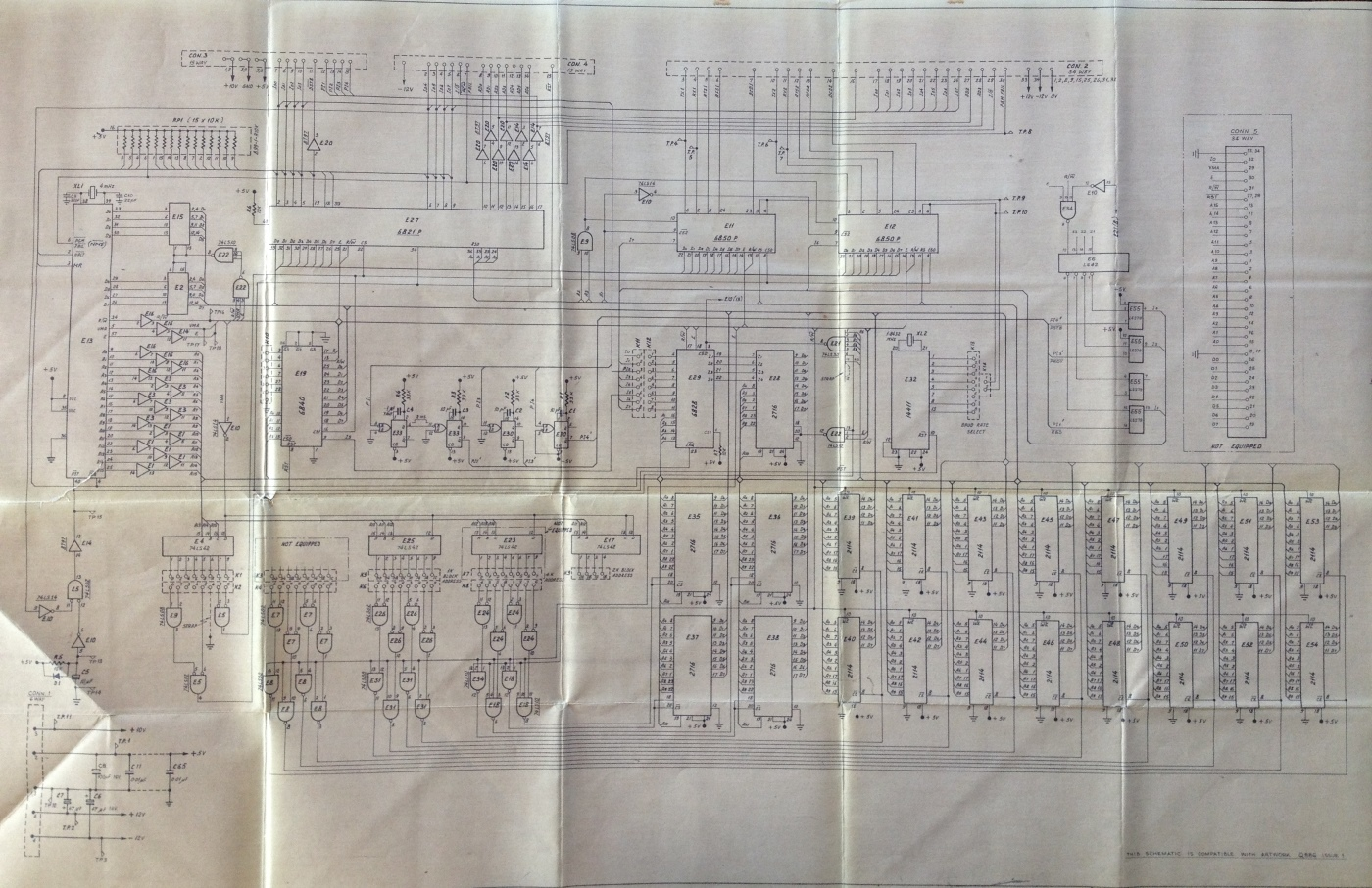 Totalizator History View Image A J22 Tim M6800 Wiring Diagram Of The Processor Pcb Circuit