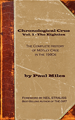 Buy Chronological Crue Vol. 1 The Eighties
