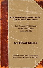Buy Chronological Crue Vol. 2 The Nineties