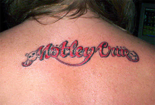 why old english font? i think overly stylised fonts in tattoos take away
