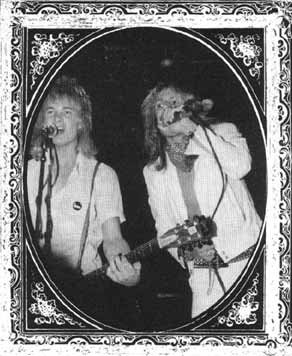 James and Vince in Rockandi from p.58 of The Dirt