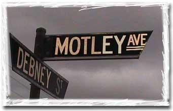 Australian street sign