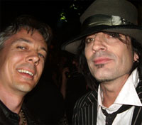 Paul Miles & Tommy Lee at The Jack Awards