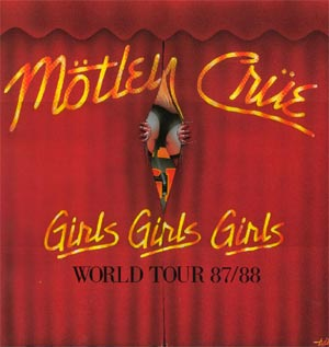 Girls Girls Gilrs - Tour Book cover