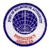 ( NEW EC )Port of Melbourne Authority Emergency Services arm patch