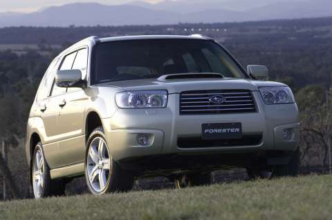 subaru forester xt depiction