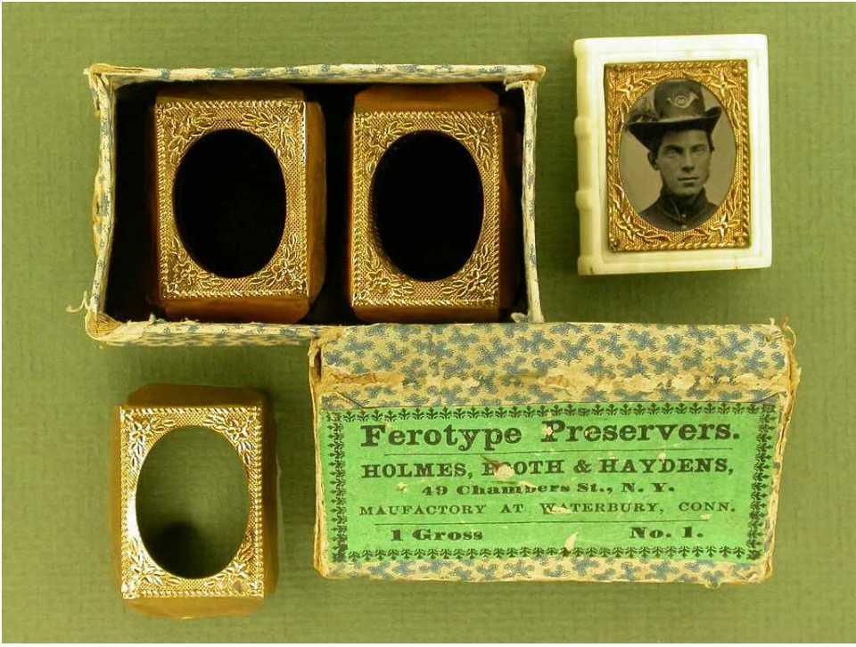 The Gem Carte De Visite Tintype