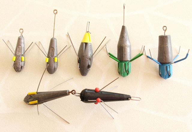 sinkers for the surf fishing monthly